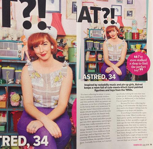 Astred Cosmo Magazine